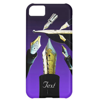 Gold Nibs Theme iPhone 5C Case