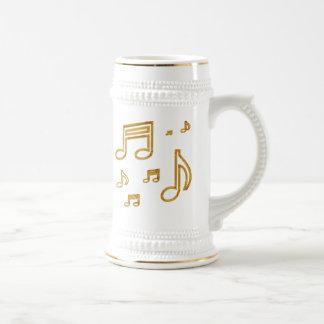 Gold Notes Mug