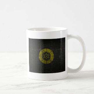 Gold Nuclear Coffee Mug