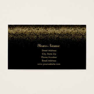 Gold Nugget Business Card