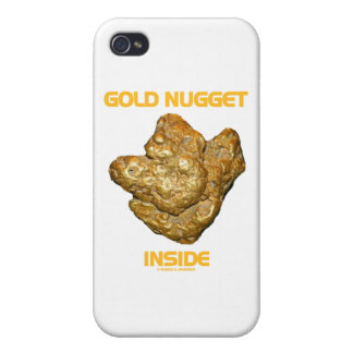 Gold Nugget Inside iPhone 4 Cover