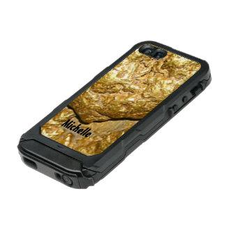 Gold nugget monogrammed incipio ATLAS ID™ iPhone 5 case