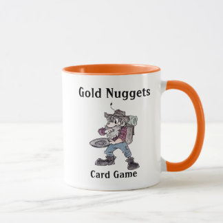 Gold Nuggets Card Game Mug