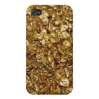 Gold Nuggets iPhone 4, 4S Case iPhone 4/4S Covers