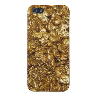 Gold Nuggets iPhone 4, 4S Case iPhone 5 Cover