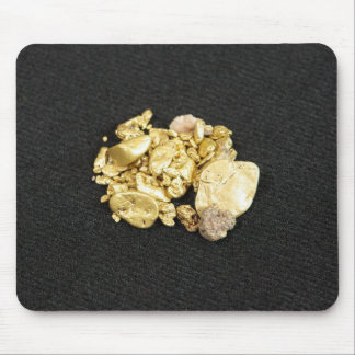 Gold Nuggets Mousepad