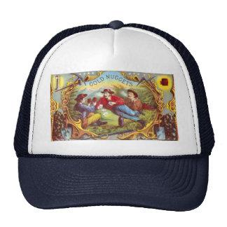 Gold Nuggets Vintage Cigar Label Trucker Hat