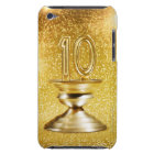 Gold Number 10 Trophy iPod Touch Case