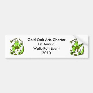Gold Oak Arts Charter 1st A... Bumper Sticker