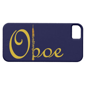 Gold Oboe iPhone 5 Cover