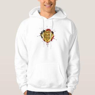 Gold + Oil = Blood Hooded Sweatshirt