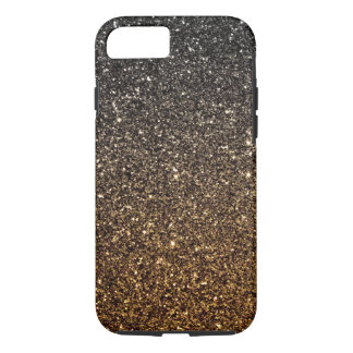 Gold Ombre Faux Glitter iPhone 8/7 Case