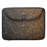 Gold Ombre Faux Glitter Sleeve For MacBook Pro