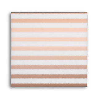 Gold Ombre Stripes Envelope