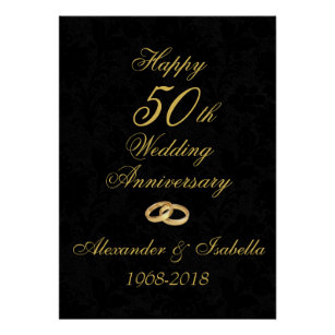 50th anniversary posters photo prints zazzle