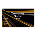 Gold On Black Business Cards