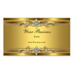 Gold On Gold Black Elegant Classy Jewel Business Card Template
