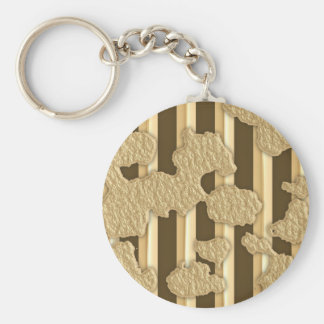 Gold On Gold Keychain