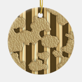 Gold On Gold Ornament