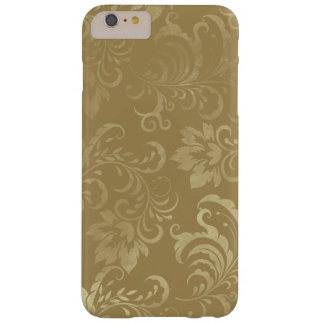 Gold on Gold Vintage Gold Damask iPhone 6 Plus Barely There iPhone 6 Plus Case