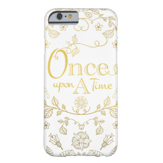 Gold Once Upon A Time Phone Case
