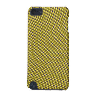 Gold! optical art pattern iPod touch (5th generation) case