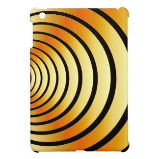 Gold optical illusion cover for the iPad mini