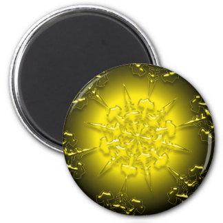 Gold Ornament Magnet