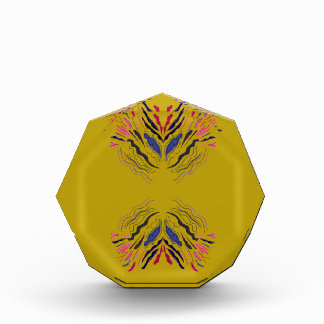 Gold ornaments Arabic Acrylic Award