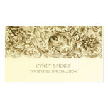 Gold Ornate Baroque Business Card