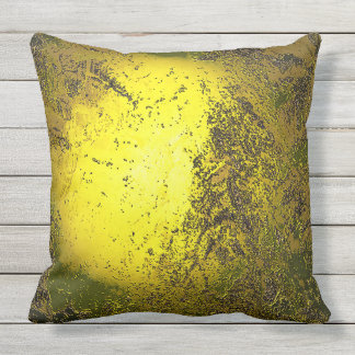 Gold Outdoor Pillow