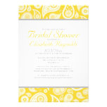 Gold Paisley Bridal Shower Invitations Personalized Invitation