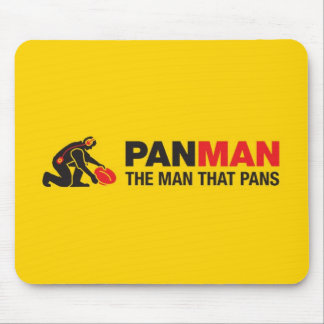 Gold Panning Mouse Pad