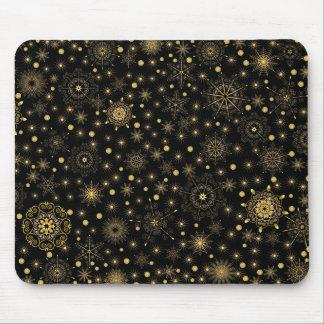 Gold Pattern Mousepad