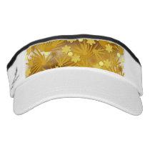 Gold pattern visor