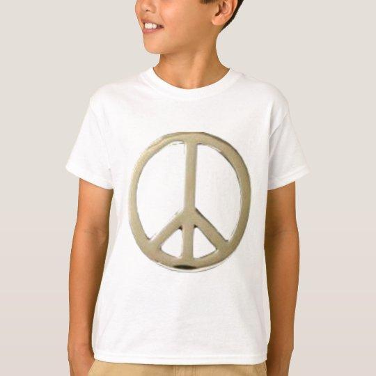 GOLD PEACE DESIGN T-Shirt