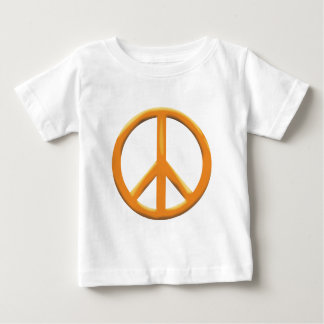 GOLD PEACE SIGN BABY T-Shirt