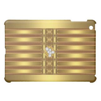Gold Pern Diamond jewel 2 Case For The iPad Mini