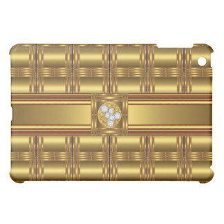 Gold Pern Diamond jewel 3 iPad Mini Case