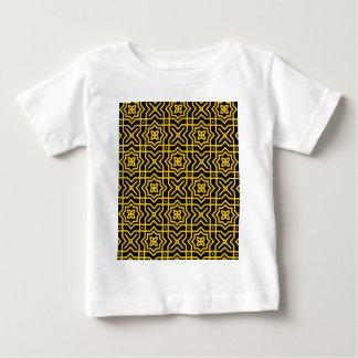 Gold Persian Pattern T Shirt