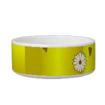 gold Pet Bowls