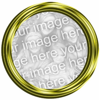 gold photo frame acrylic cut outs