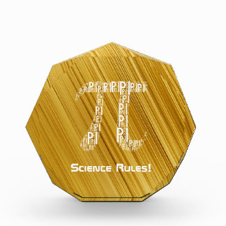 Gold Pi Typed Design Text Symbol   Geek Award