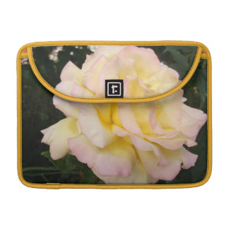 Gold Pink English Roses Sleeve For MacBook Pro