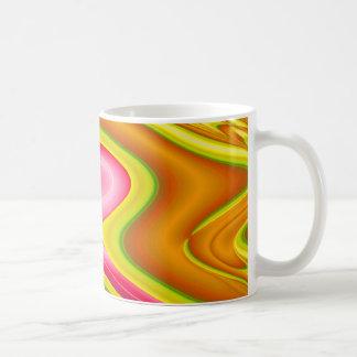 gold pink mugs