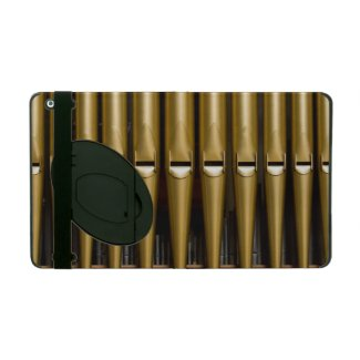 Gold pipes iCase for iPad with kickstand