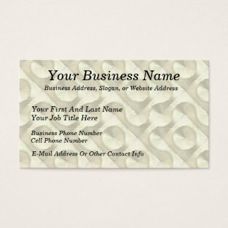 Gold Plaster and Cardboard Labyrinth Business Card