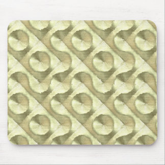Gold Plaster and Cardboard Labyrinth Mouse Pad