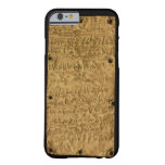 Gold plate with Phoenician inscription, from Santa Barely There iPhone 6 Case