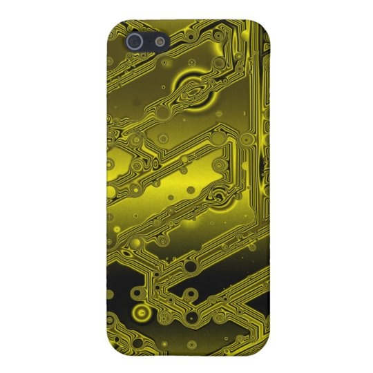 Gold Plated Transistor Circuit Board Speck Case